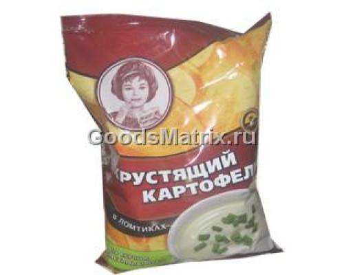 Чипсы ТМ Хрустящий картофель, лук-сметана 70 г