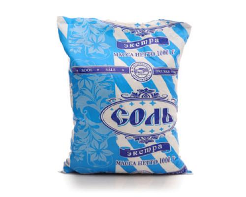 Соль поваренная пищевая выварочная Экстра ТМ Мозырьсоль