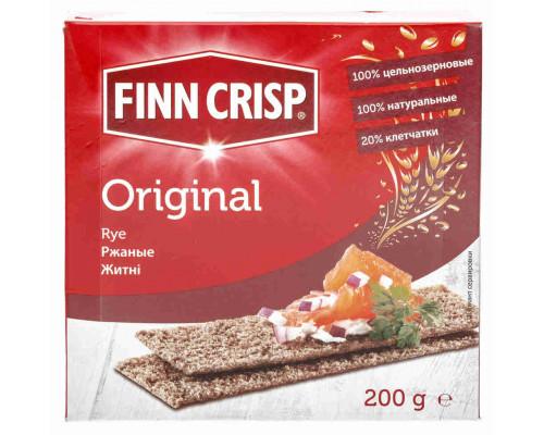 Сухарики ТМ Finn Crisp (Финн Крисп), Ржаные 200 г