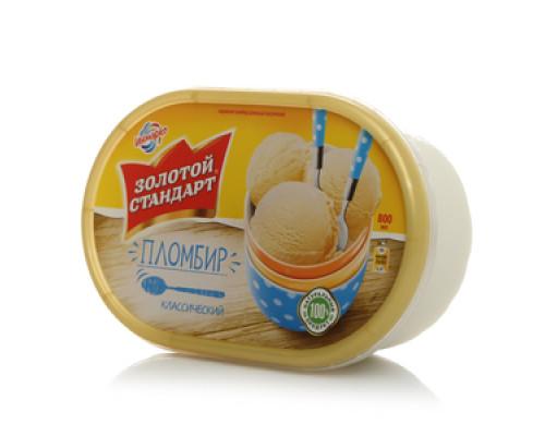 Мороженое пломбир Ванильный Золотой стандарт 12,0% ТМ Инмарко
