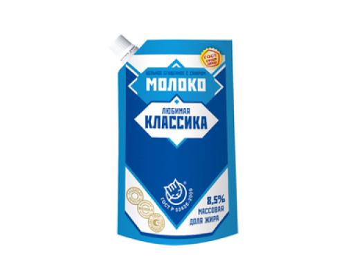 Молоко цельное сгущенное с сахаром 8,5% Любимая классика