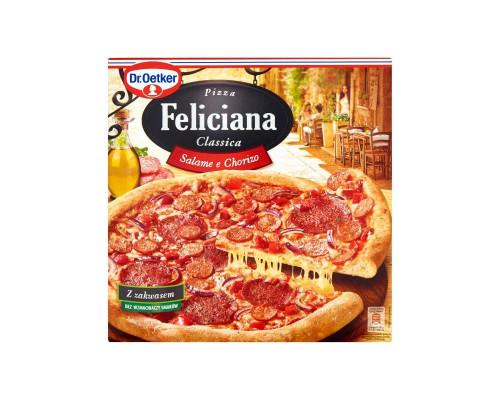 Пицца ТМ Feliciana (Фелисиана) Dr. Oetker Салями и Чоризо, 325 г