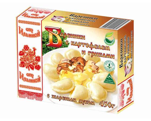 Вареники с картофелем и грибами 450г Продукты от Ильиной