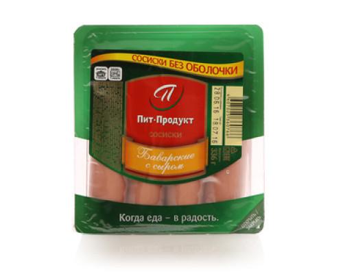Сосиски Баварские с сыром ТМ Пит-Продукт