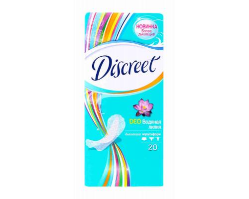 Прокладки ежедневные Discreet Deo Водная лилия 20шт
