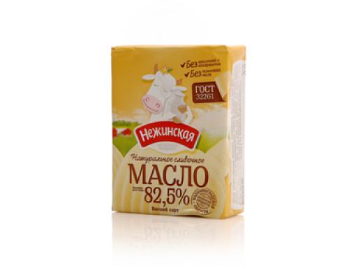 Масло сладко-сливочное  несоленое Традиционное 82,5% ТМ Нежинская