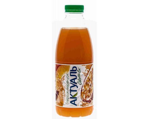 Напиток сывороточный Актуаль с соком персика/маракуйи 930г пэт