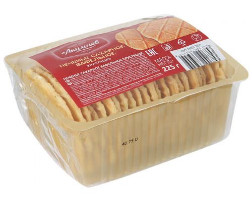 Печенье Акульчев, вафельное хрустящее, 225 г