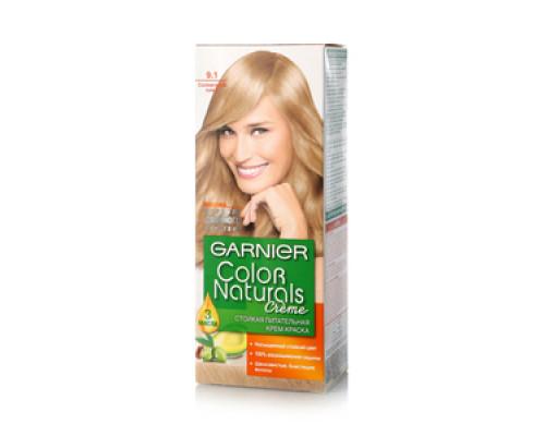 Крем-краска для волос Garnier Color Naturals Cr?me 9.1 Солнечный пляж ТМ Garnier (Гарньер)