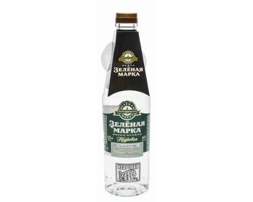 Водка особая Кедровая Зеленая марка алк.40% 0,25л
