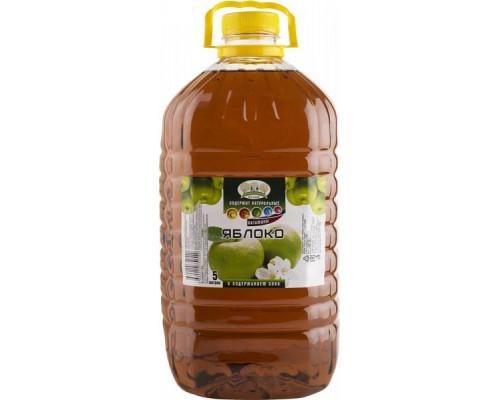 Напиток Яблоко ТМ Прогулка по саду, с содержанием сока, 5 л
