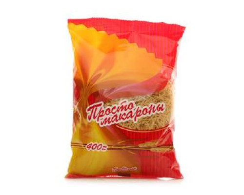 Макаронные изделия Вермишель TM Просто макароны
