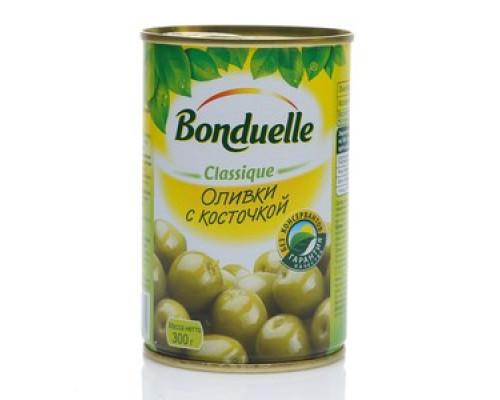 Оливки ТМ Bonduelle (Бондюэль) с косточкой