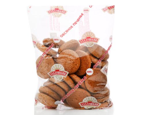Овсяное печенье ТМ Аладушкин