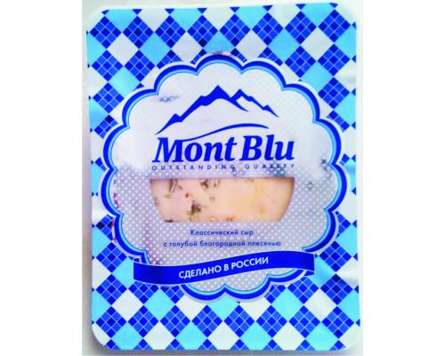 Сыр ТМ Mont Blu (Монт Блю) c голубой плесенью, 50%, 100 г