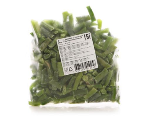 Фасоль зеленая стручковая резаная быстрозамороженная ТМ Лента