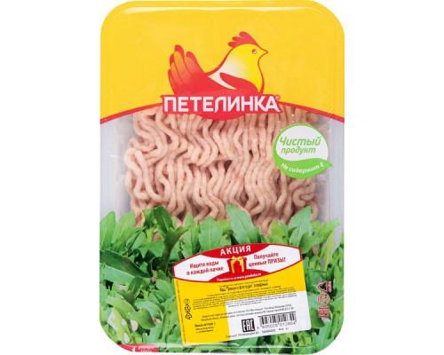 Фарш Премиум ТМ Петелинка, из филе грудки цыплят-бройлеров, охлажденный, 500 г