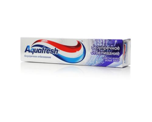 Зубная паста ТМ Aquafresh Intense White (Аквафреш Интенс Уайт) Безупречное отбеливание