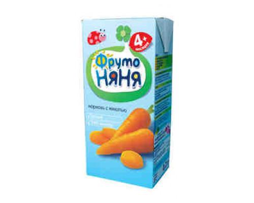 Нектар ФрутоНяня морковь с 4мес 200мл т/п