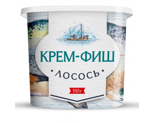 Крем-фиш ТМ Европром Лососевый, 150 г