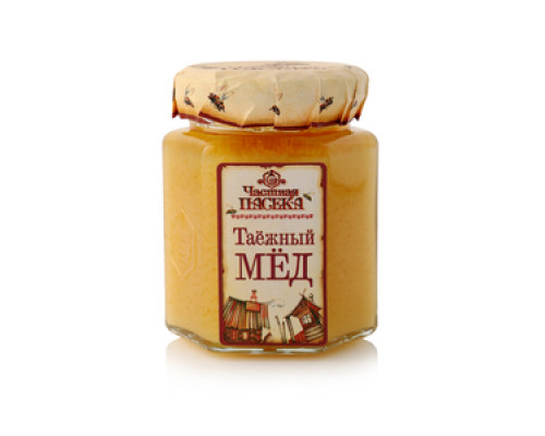 Мед таежный ТМ Частная пасека