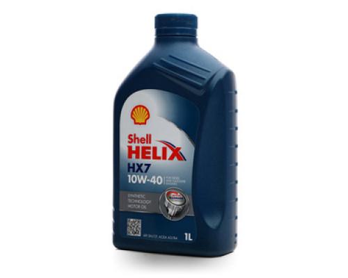 Масло моторное синтетическое Helix HX7 10W-40 ТМ Shell (Шелл)