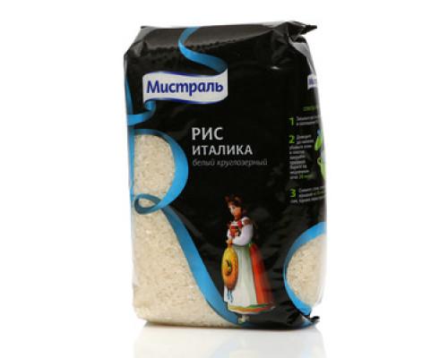 Рис белый среднезерный Италика ТМ Мистраль