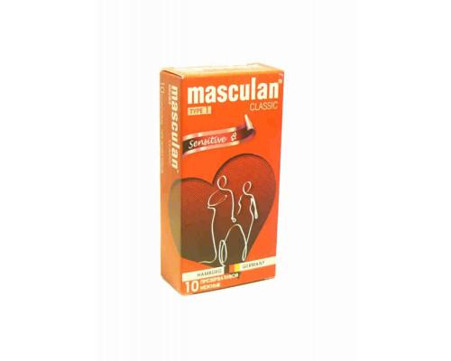 Презервативы Masculan 1 нежные 10шт