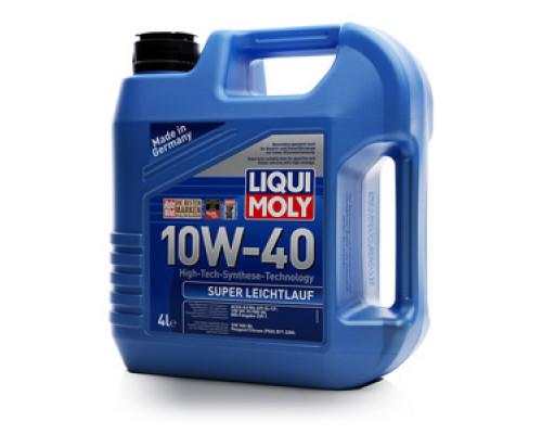 Масло моторное синтетическое 10W-40 ТМ Liqui Moly (Ликви Моли)