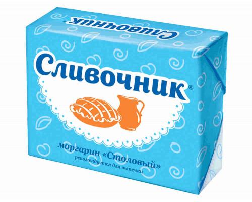 Маргарин ТМ Сливочник, Столовый, 40%, 180 г