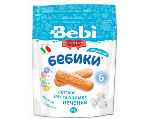 Печенье детское Bebi Бебики с 6мес 125г
