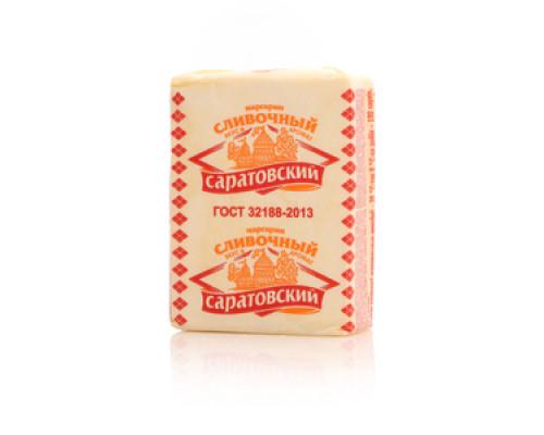 Маргарин ТМ Солнечные продукты, Саратовский, твердый со сливочным вкусом и ароматом 55%, 180 г