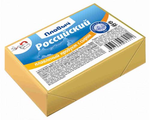 Продукт плавленый с сыром Плавыч Российский 70г брикет