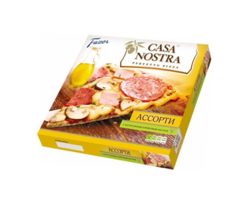Пицца ассорти полуфабрикат ТМ Casa Nostra (Каза Ностра)