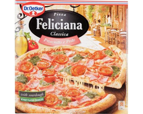 Пицца Ветчина и Песто ТМ Dr. Oetker (Доктор Оеткер) Feliciana Classica, 360 г