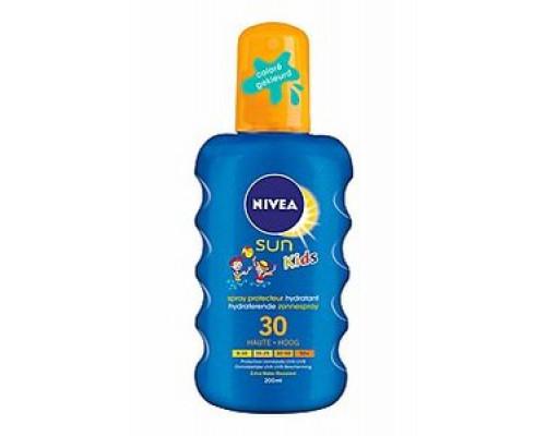 Спрей солнцезащитный увлажняющий ТМ Nivea Sun Kids