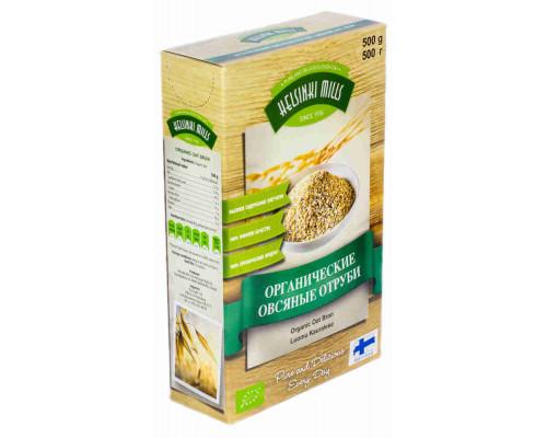 Отруби Helsinki Mills органические овсяные 500г кор