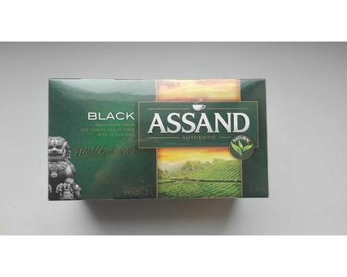 Чай ТМ Аssand (Ассанд) черный цейлонский, 25 пакетиков