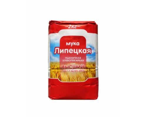 Мука пшеничная ТМ Липецкая, 2 кг