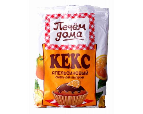 Смесь д/выпечки Печём дома кекс апельсиновый 400г