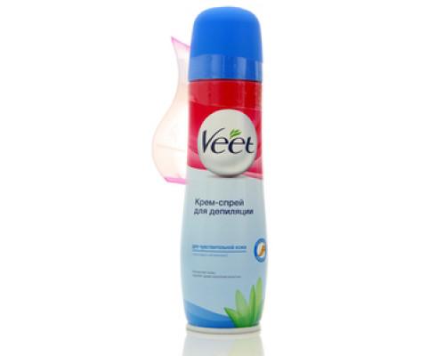 Крем-спрей для депиляции для чувствительной кожи ТМ Veet (Вит)