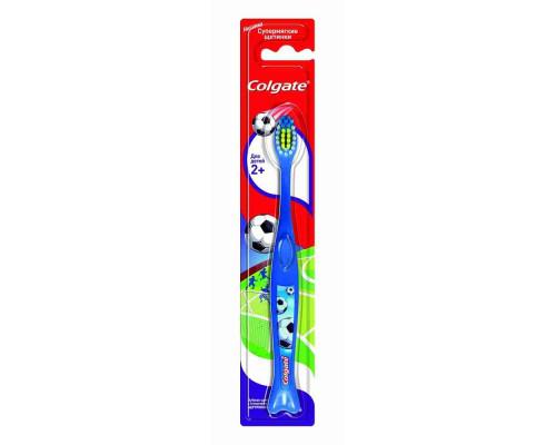 Зубная щетка д/детей Colgate супермягкая с 2лет