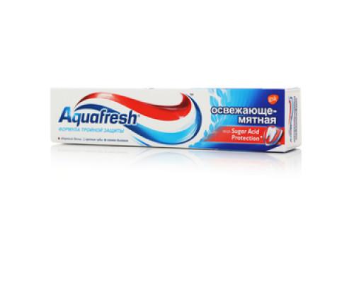 Освежающе-мятная зубная паста ТМ Aquafresh (Аквафреш)