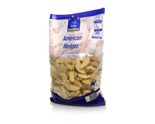Дольки картофельные с кожурой замороженные TM Horeca Select (Хорека Селект) 2,5 кг