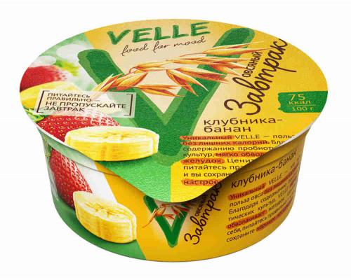 Продукт Velle Овсяный завтрак клубника/банан 175г