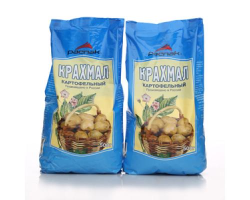 Крахмал картофельный 2*500г ТМ Распак