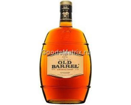 Коньяк ТМ Fathers Old Barrel (Фазерс Олд Баррель), пятилетний, 40%, 0,5 л