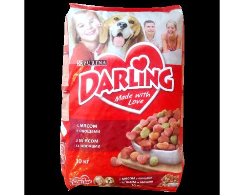 Корм для собак ТМ Darling (Дарлинг) с мясом и овощами, 10 кг