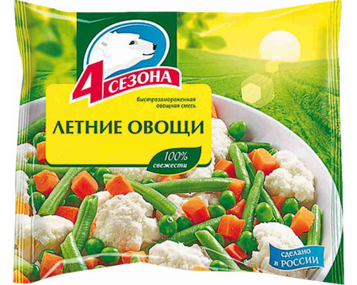 Летние овощи 4 сезона 400г