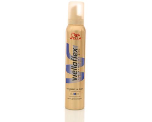 Мусс для волос объем до 2-х дней ТМ WellaFlex (Веллафлекс)